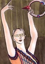 Young (self portrait), my guest in episode 44, updates us on her alchemy