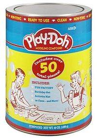 Life lessons and the birth of Play Doh