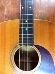 Euan's guitar
