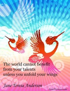 Unfold your wings