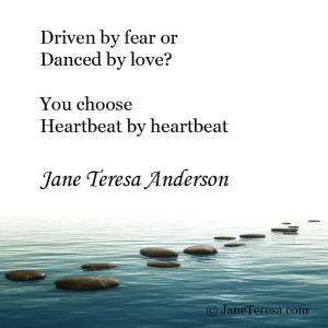 Danced by Love Jane Teresa Anderson