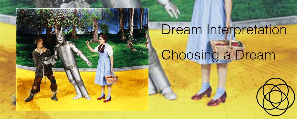 Dream Interpretation Choosing a Dream jane Teresa Anderson