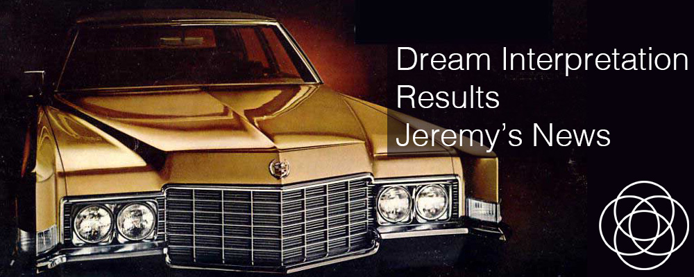 Dream Interpretation Results Jeremys News Jane Teresa Anderson