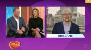 The Morning Show Seven 18 July 2016 Jane Teresa Anderson