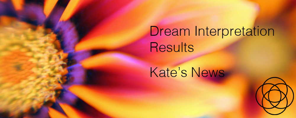 Dream Interpretation Results Kate's News Jane Teresa Anderson