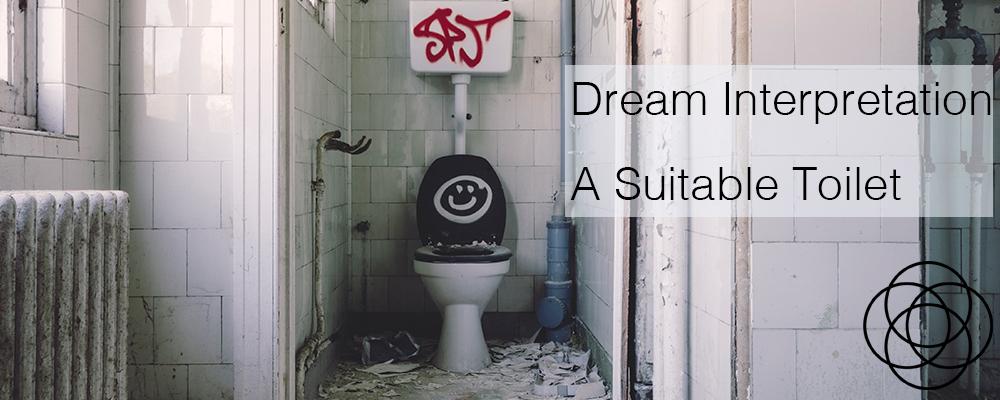 Dream Interpretation Toilet Dreams A Suitable Toilet Jane Teresa Anderson