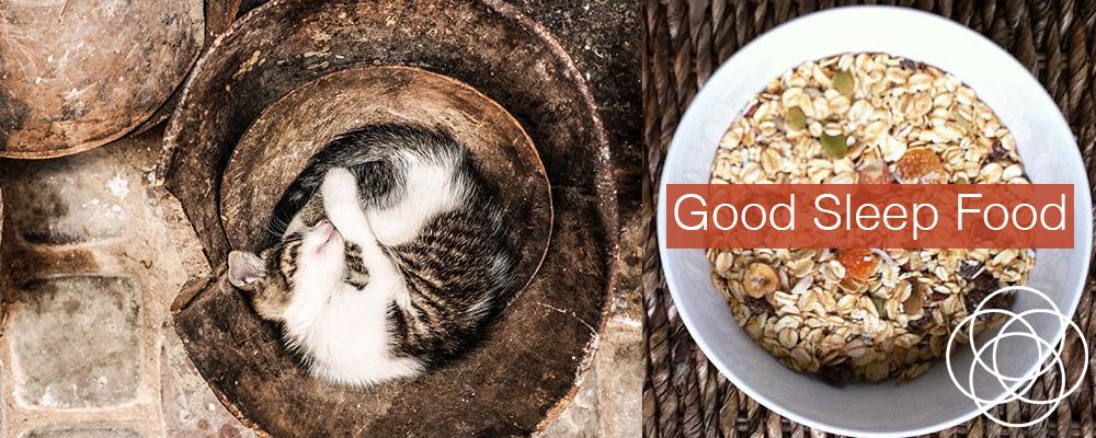 Good Sleep Food Jane Teresa Anderson Dreams